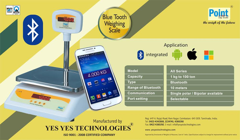 Bluetooth Weighing Scale